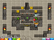 Флеш игра онлайн Замок привидения / Ghost Castle