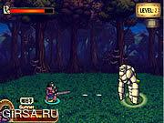 Флеш игра онлайн Рыцарь и пулемЈтчик привидения / Ghost Knight and Gunner