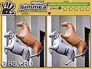 Флеш игра онлайн Gimme 5 Horses