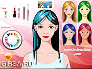 Флеш игра онлайн Girl Make Up 2