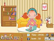 Флеш игра онлайн Девушки номера - Скрытые предметы