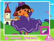 Флеш игра онлайн Дора. Головоломки / Go Dora Go Puzzle