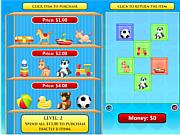 Флеш игра онлайн Прогулка по магазинам / Go Shopping (Math)