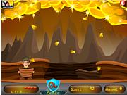 Флеш игра онлайн Поймай золотишко / Gold Bar Catch