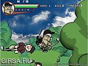 Флеш игра онлайн Gavin профессиональный Goblin 2 гольфа