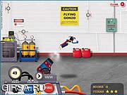 Флеш игра онлайн Flying Gonzo