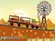 Флеш игра онлайн Хороший поезд / Good Train