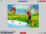 Флеш игра онлайн Гуфи. Пазл / Goofy Jigsaw