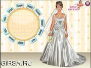Флеш игра онлайн Великолепное свадебное платье / Gorgeous Wedding Dress Up