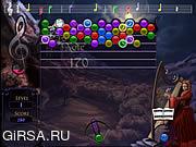 Флеш игра онлайн К Goth BubbleJam / Goth BubbleJam