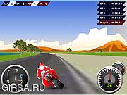 Флеш игра онлайн GP Безумные гонки / GP Racing Madness