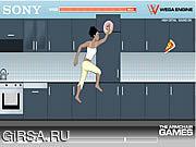 Флеш игра онлайн Захват-а-закуска препятствия / The Grab-a-Snack Hurdles