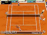 Флеш игра онлайн Теннис