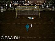 Флеш игра онлайн Graveyard Penalty Cup