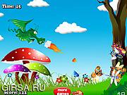 Флеш игра онлайн Green Dragon