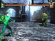 Флеш игра онлайн Зеленый Фонарь Боевые