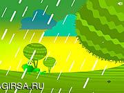 Флеш игра онлайн Лягушка убегает / Green Love