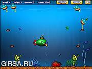 Флеш игра онлайн Зеленый подводных