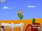 Флеш игра онлайн Gunslinger Challenge