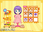 Флеш игра онлайн Hair Game