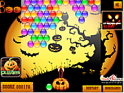 Флеш игра онлайн Стреляй по шарам / Halloween Bubble Shooter