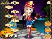Флеш игра онлайн Сладкие костюмы на Хэллуин / Halloween Candy Costumes
