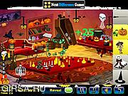 Флеш игра онлайн Найти предметы   - дух Хэллоуина / Halloween Spirit