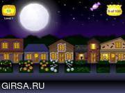 Флеш игра онлайн Хэллоуин: конфеты или жизнь / Halloween Trick or Treat
