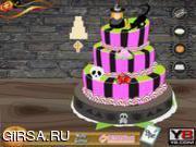 Флеш игра онлайн Halloween Wedding