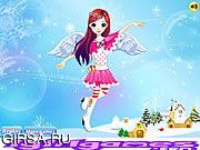 Флеш игра онлайн Счастливого Рождества Ангел / Happy Christmas Angel