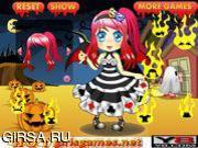 Флеш игра онлайн Забавный Хэллуин / Happy Halloween Cutie