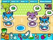 Флеш игра онлайн Счастливые питомцы / Happy Pet Place Game