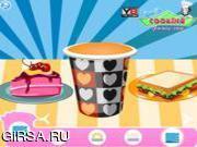Флеш игра онлайн Веселое украшение закусок / Happy Snacks Decor