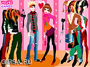 Флеш игра онлайн Happy Couple Dressup