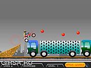 Флеш игра онлайн Жесткий байк / Hard Dirt Bike