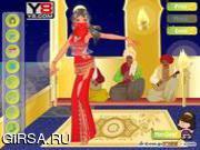 Флеш игра онлайн Танец живота / harem dancer
