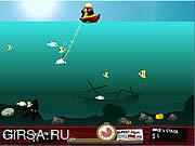 Флеш игра онлайн Гарпун безумного Мака Лагуна