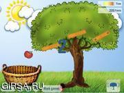 Флеш игра онлайн Яблочная сноровка / Harvesting 2