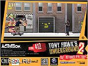 Флеш игра онлайн Tony Hawk's Underground 2