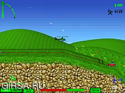 Флеш игра онлайн Helichopter / Helichopter