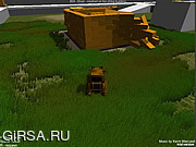 Флеш игра онлайн Helldozer