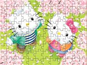 Флеш игра онлайн Hello Kitty In Love