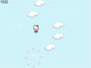 Флеш игра онлайн Hello Kitty Jumping