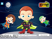 Флеш игра онлайн Дети героев одеваются / Hero Kids Dress Up