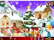 Флеш игра онлайн Найти предметы / Hidden Christmas 2