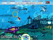 Флеш игра онлайн Скрытые Цифры-Подводная Фантастика / Hidden Numbers-Underwater Fantasy