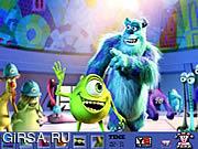 Флеш игра онлайн Скрытые Пятна-Монстры Университета / Hidden Spots-Monsters University