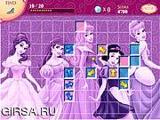 Флеш игра онлайн Disney Princess and Friends - Hidden Treasures
