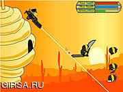 Флеш игра онлайн Радетель крапивницы