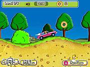 Флеш игра онлайн Гонки с Гомером 2 / Homers Donut Run 2